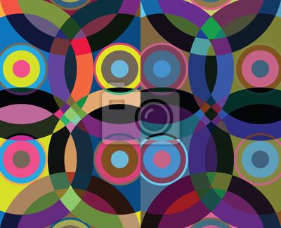 Geometrické abstraktní pozadí