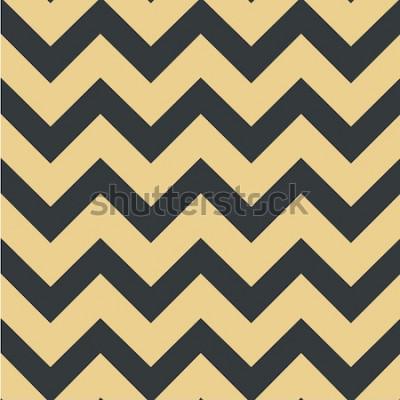 Nálepka Geometrický motiv. Chevron vzor Bezešvá vektorová ilustrace Pozadí pro tisk na textilie, textil, rozvržení, obaly, pozadí, pozadí a tapety, webové stránky, papír