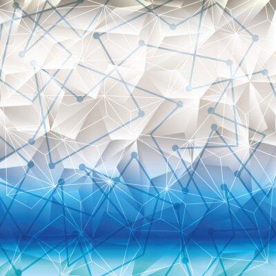 Nálepka Geometrie tapety nebo pozadí
