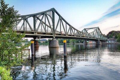 Nálepka Glienicker Brücke Potsdam / Berlin