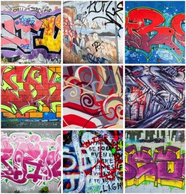 Nálepka Graffiti