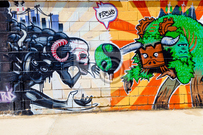 Nálepka Grafiti