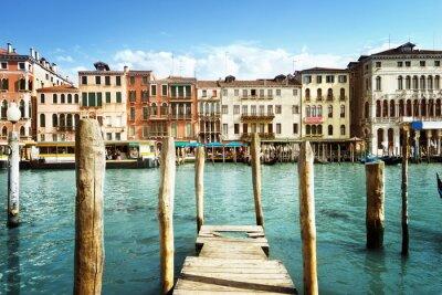 Nálepka Grand Canal, Benátky, Itálie