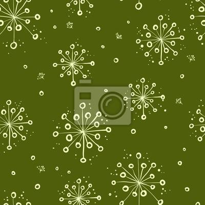 herbal floral pattern