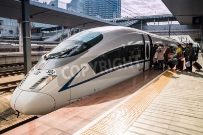 Nálepka High-speed trains in Guangzhou