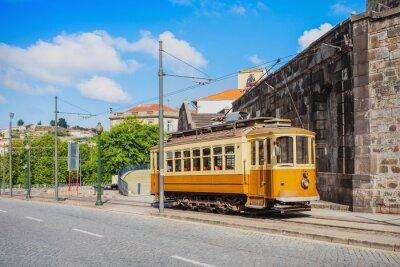 Nálepka Historical Tram, Porto