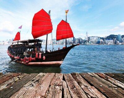 Nálepka Hong Kong Harbour