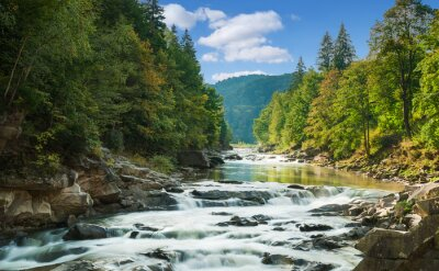 Nálepka horská řeka
