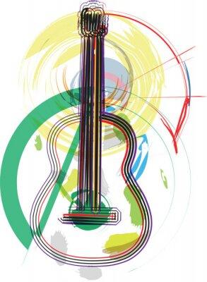 hudební nástroj vektorové ilustrace