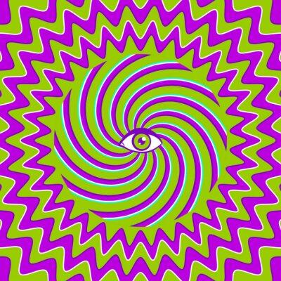 Nálepka Hypnotic retro plakát