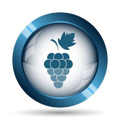 Nálepka ikona Grape