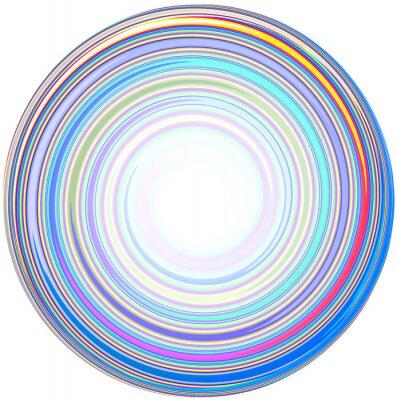 Nálepka ilustrace abstraktní Mandala