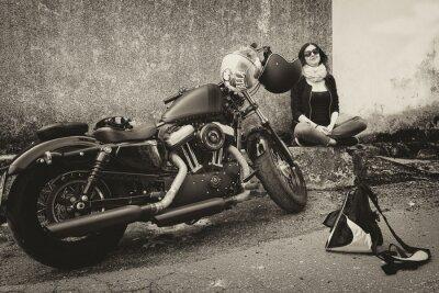 Nálepka In Viaggio con la Moto