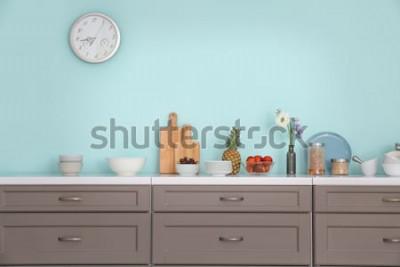 Nálepka Interiér moderní kuchyně
