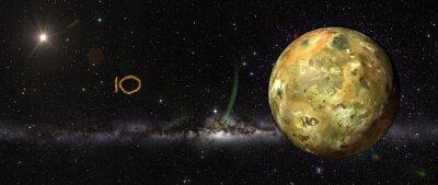 Nálepka Io v outerspace.