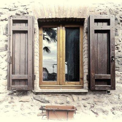 Nálepka Italian Window