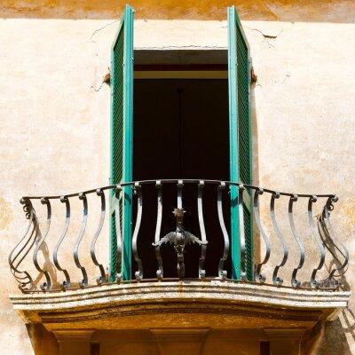 Nálepka italský Balkon