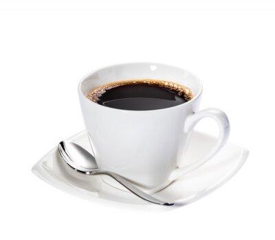 Nálepka Izolované káva