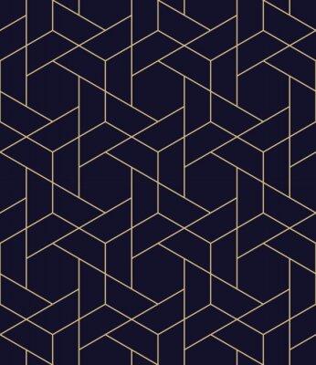 Nálepka jednoduchý bezproblémový geometrický mřížkový vektorový vzor