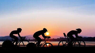 Nálepka Jízda na kole na Twilight Time