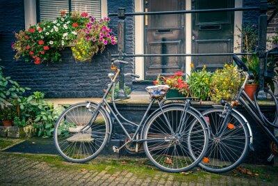 Nálepka Jízdní kola v Amsterdamu