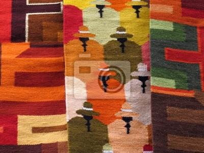 Jižní Amerika indické tkaniny
