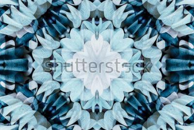 Nálepka Kaleidoskop s krásnou ornamentální barvou - důkladné shrnutí pozadí - bezproblémové
