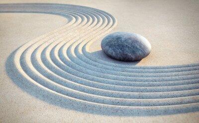 Nálepka Kámen a linky v písku