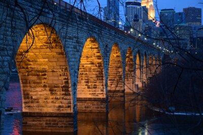 Nálepka Kamenný klenutý most