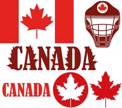 Nálepka Kanada