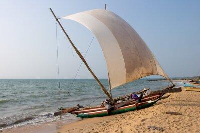 Nálepka Katamarán Negombo Beach, Srí Lanka