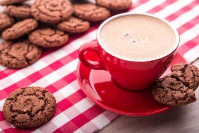 Nálepka káva a sušenky
