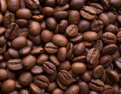 Nálepka Kávová zrna
