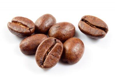 Nálepka Kávová zrna izolované