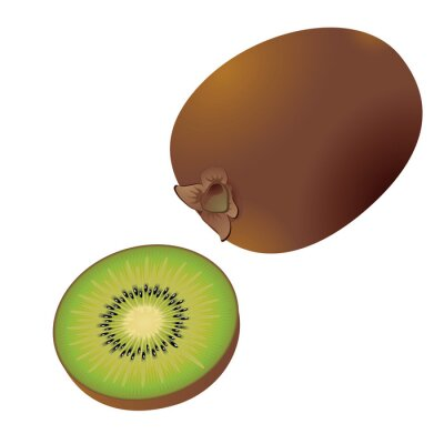 Nálepka kiwi