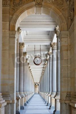 Nálepka Klasická kolonáda v Karlových Varech, Česká republika