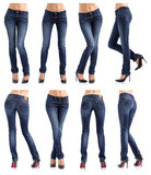 ee8a1e0b4d0 Ženský zadek v těsných džínách nálepky na notebook • nálepky na zeď ...