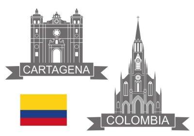 Nálepka Kolumbie
