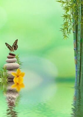 Nálepka Koncept přírody détente, bien-être, relaxace