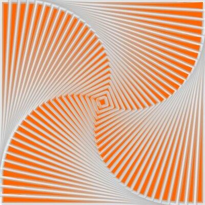 Nálepka Konstrukce barevné točit pohyb iluze pozadí