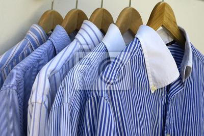 Nálepka Košile na dřevěné závěsy