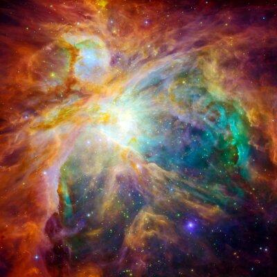 Nálepka Kosmické mračno zvané mlhovina v Orionu