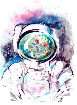 Nálepka kosmos