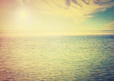 Nálepka Krásná obloha a modré moře