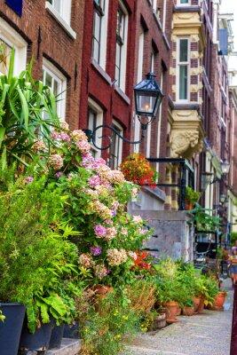 Nálepka Krásný dům v Amsterdamu