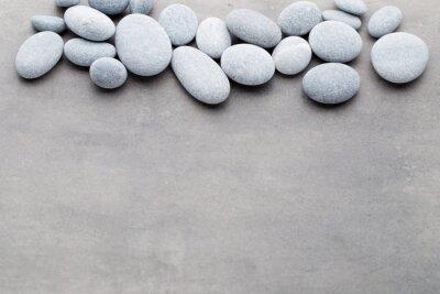 Nálepka Lázně kameny léčba scéna, zen jako koncepty.