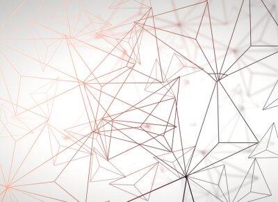 Nálepka Lehké mnohoúhelníkové pozadí