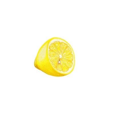 Nálepka Lemon art