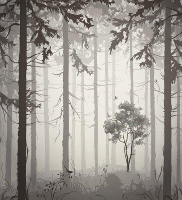 Nálepka les
