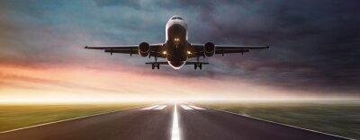 Nálepka Letadlo v letu